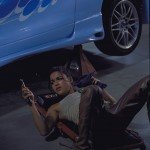 Michelle Rodriguez en A todo gas (The Fast and the Furious)