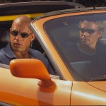 Vin Diesel y Paul Walker en A todo gas (The Fast and the Furious)