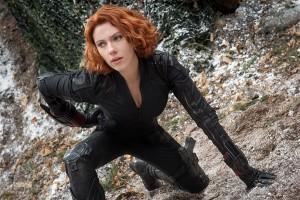 Scarlett Johansson en Vengadores: La era de Ultrón