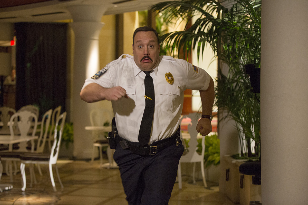 Kevin James en Superpoli en Las Vegas
