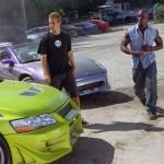 Paul Walker y Tyrese Gibson en 2 Fast 2 Furious (A todo gas 2)