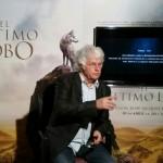 Jean-Jacques Annaud en la presentación de El último lobo