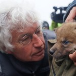 Jean-Jacques Annaud en el rodaje de El último lobo (2)