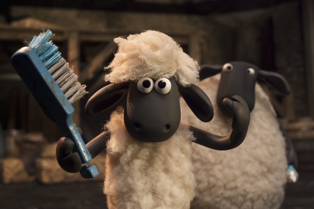 Shaun en La oveja Shaun. La película
