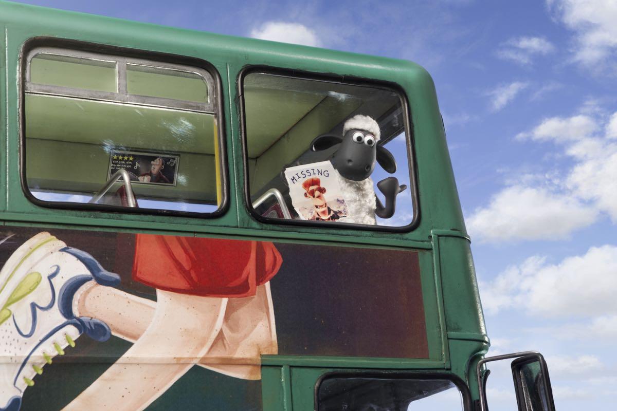 Shaun en La oveja Shaun. La película (2)