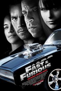 Fast & Furious: Aún más rápido - Poster final americano