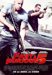 Fast & Furious 5 - Poster final