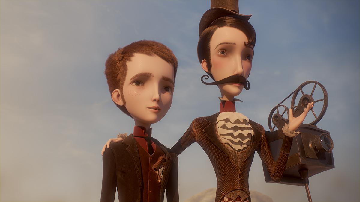 Jack y Méliès en La mecánica del corazón