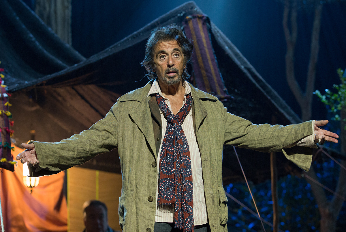 Al Pacino en La sombra del actor