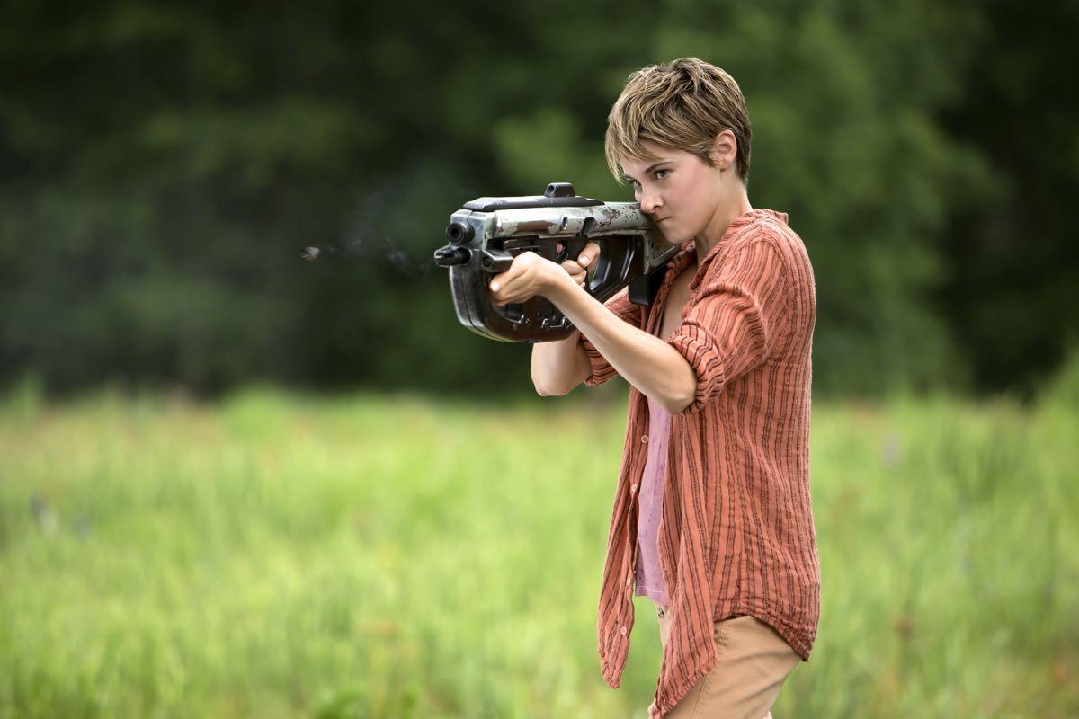Shailene Woodley en La serie Divergente: Insurgente