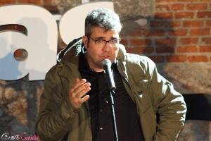 Florentino Fernández en la presentación de El gurú de las boda