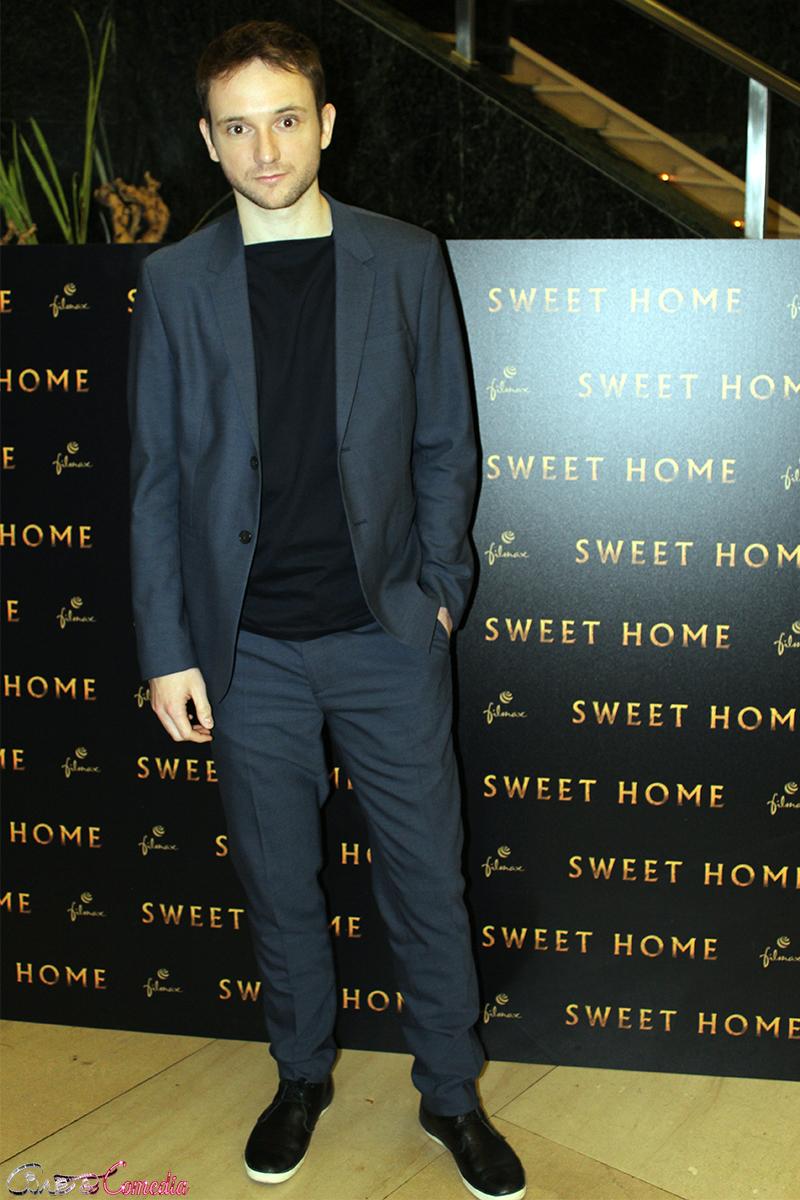 Bruno Sevilla en la presentación de Sweet home