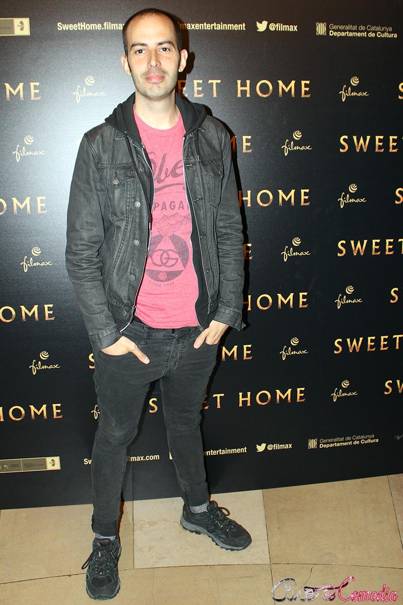 Rafa Martínez en la presentación de Sweet home