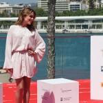 Adriana Ugarte en la presentación de Tiempo sin aire en el 18 Festival de Málaga ©AnaBelenFernandez