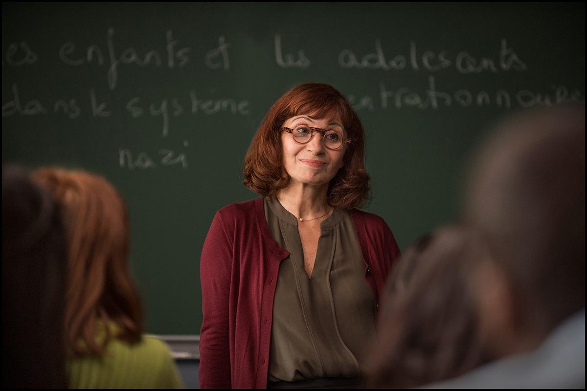 Ariane Ascaride en La profesora de historia