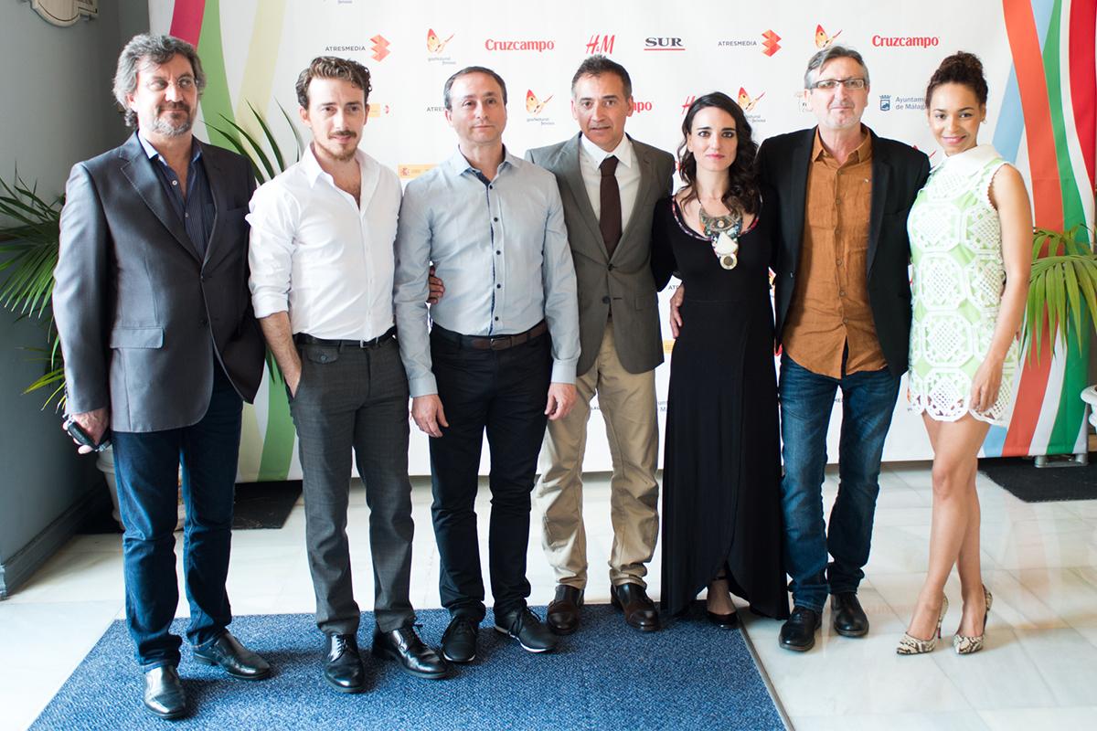 Equipo artístico de Sicarivs: La noche y el silencio en el 18 festival de Málaga