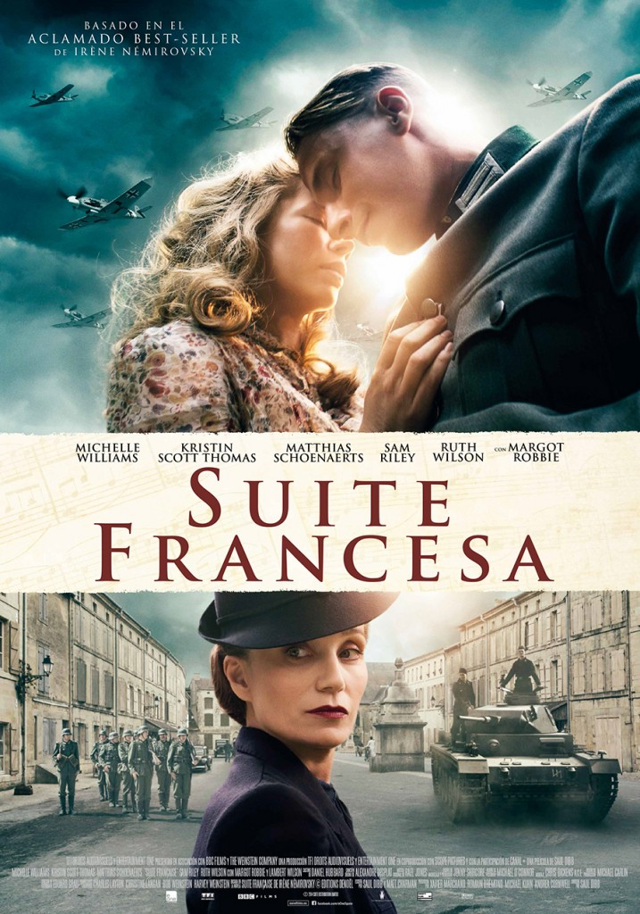 Suite francesa sinfon a sin fin cine y comedia - Pelicula francesa silla ruedas ...