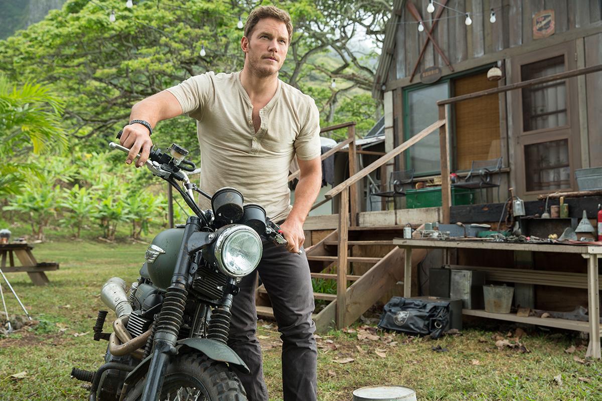 Chris Pratt en Jurassic World