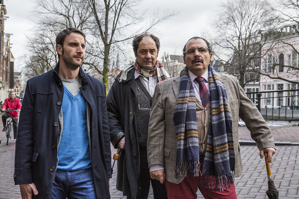 Dani Rovira, Jordi Sánchez y Joaquín Núñez en Ahora o nunca