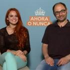 Joaquín Núñez, Melody Ruiz y Jordi Sánchez en la presentación de Ahora o nunca
