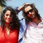 Esther Méndez y Aitor Luna en la presentación de Matar el tiempo en el 18 Festival de Málaga