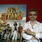 Arturo Valls y Juanma Bajo Ulloa en la presentación de Rey gitano