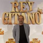 Manuel Manquiña en la presentación de Rey gitano