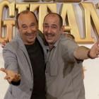 Manuel Manquiña y Karra Elejalde en la presentación de Rey gitano
