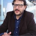 Dani de la Torre en la presentación de las primeras imágenes de El desconocido en el 18 festival de Málaga