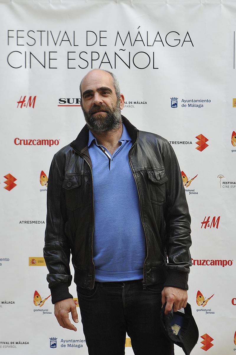 Luis Tosar en la presentación de las primeras imágenes de El desconocido en el 18 festival de Málaga