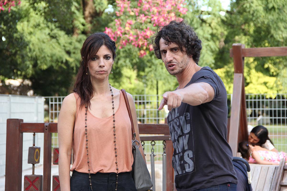 Maribel Verdú y Diego Peretti en Sin hijos