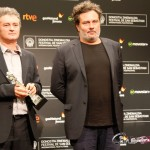 Arnaud Larrieu y Jean Marie Larrieu en el 63 Festival de San Sebastián