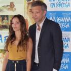 Lola Le Lann y Vincent Cassel en la presentación de Una semana en Córcega (4)