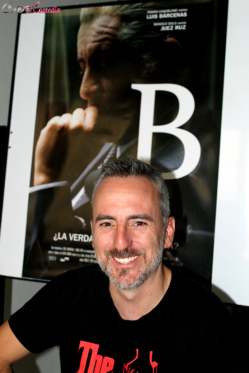 David Ilundain en la presentación de B