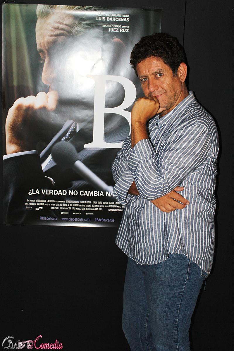 Pedro Casablanc en la presentación de B