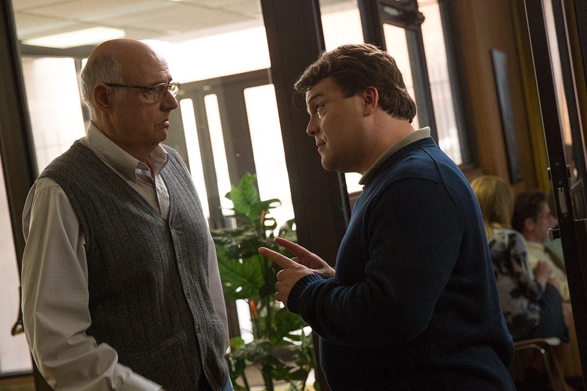 Jeffrey Tambor y Jack Black en The D Train