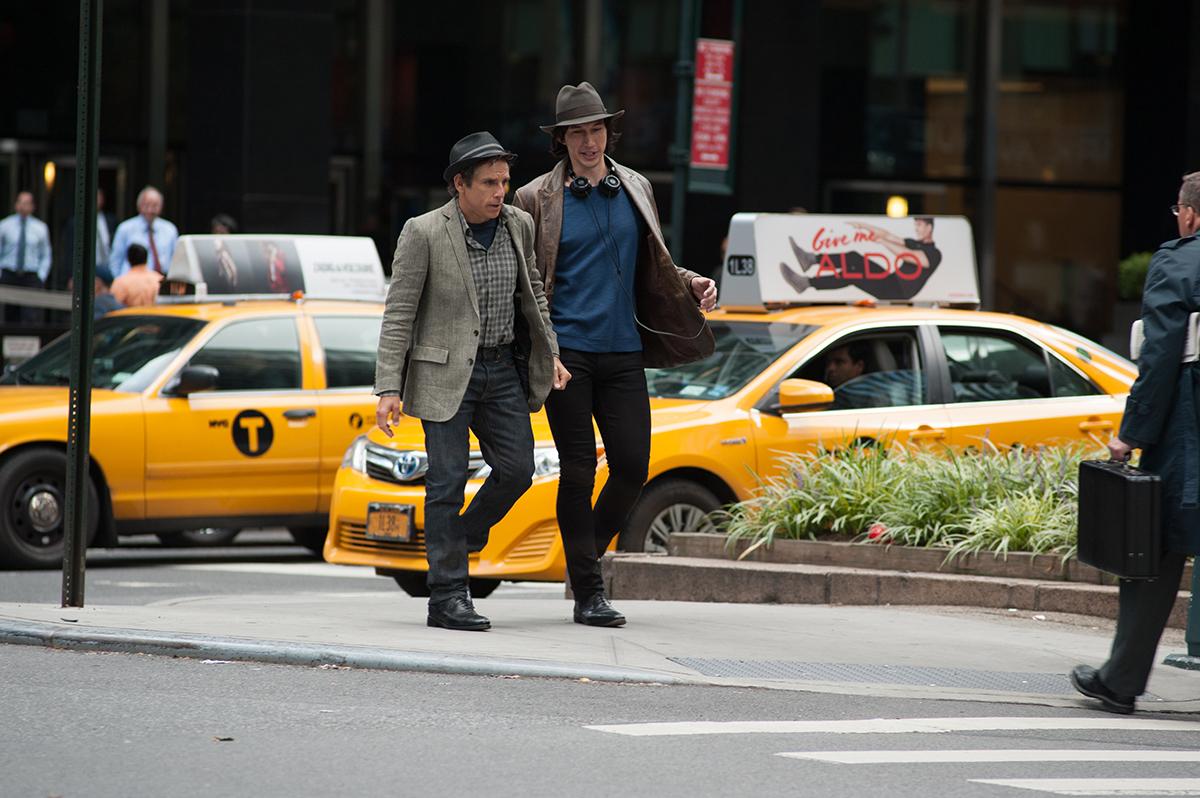 Ben Stiller y Adam Driver en Mientras seamos jóvenes