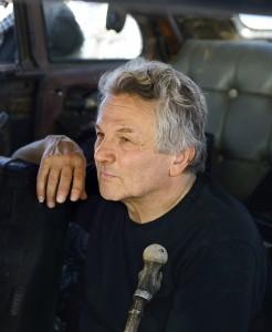 George Miller en el rodaje de Mad Max: Furia en la carretera
