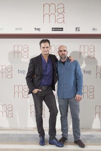 Asier Etxeandia y Luis Tosar en la presentación de Ma ma (2)