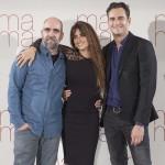 Luis Tosar, Penélope Cruz y Asier Etxeandia en la presentación de Ma ma (3)
