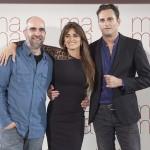 Luis Tosar, Penélope Cruz y Asier Etxeandia en la presentación de Ma ma (4)