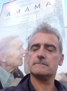 Asier Altuna en la presentación de Amama en el 63 Festival de San Sebastián
