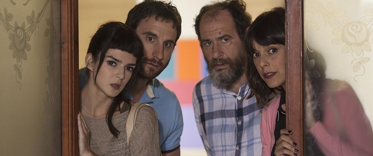 Clara Lago, Dani Rovira, Karra Elejalde y Belén Cuesta en Ocho apellidos catalanes