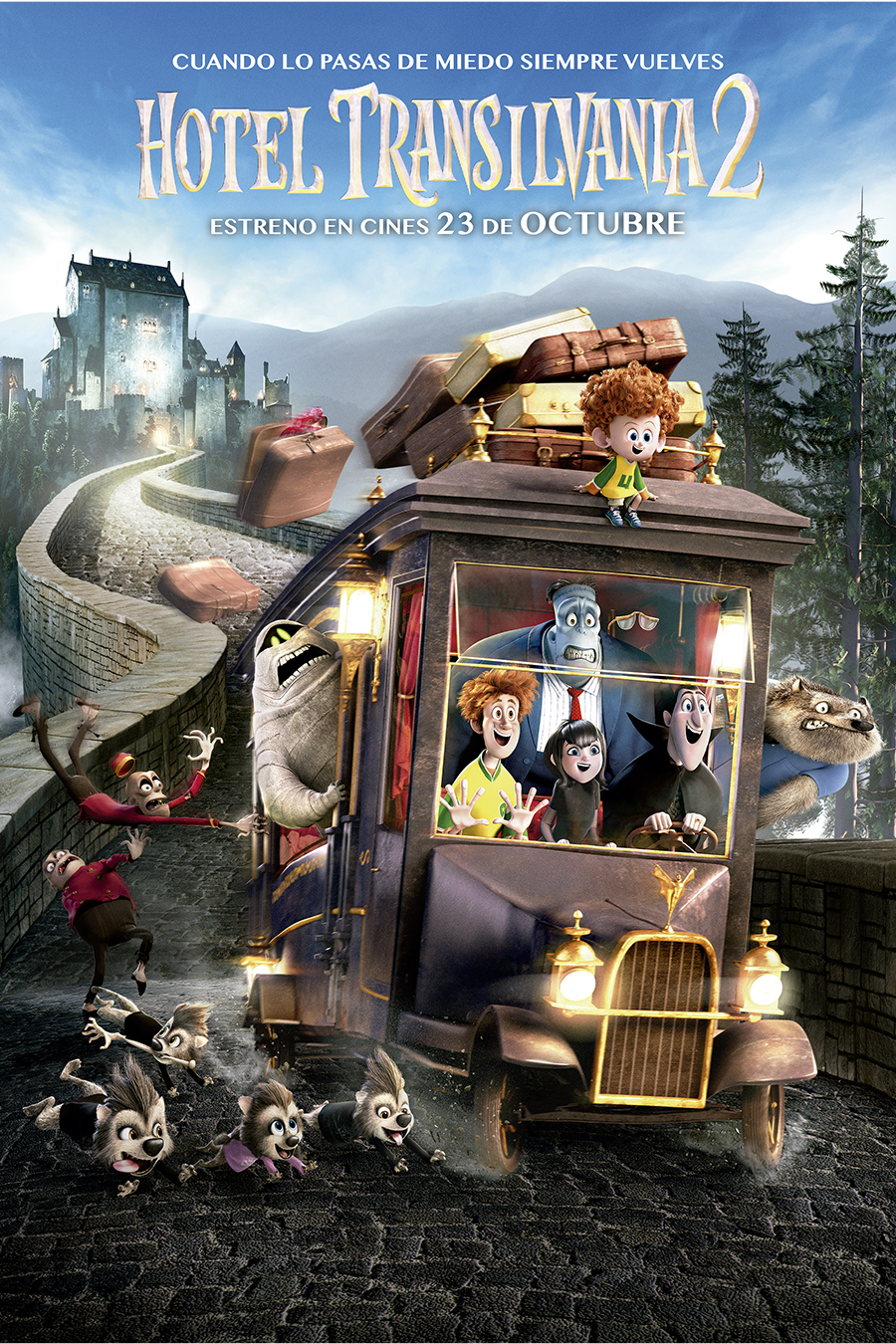 Hotel Transilvania 2 - Poster final TM & © 2015 Sony Pictures Animation Inc. All Rights Reserved.