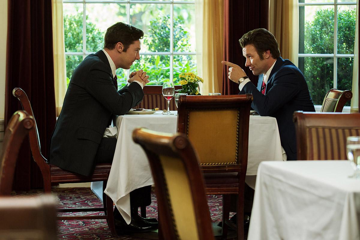 Benedict Cumberbatch y Joel Edgerton en Black Mass
