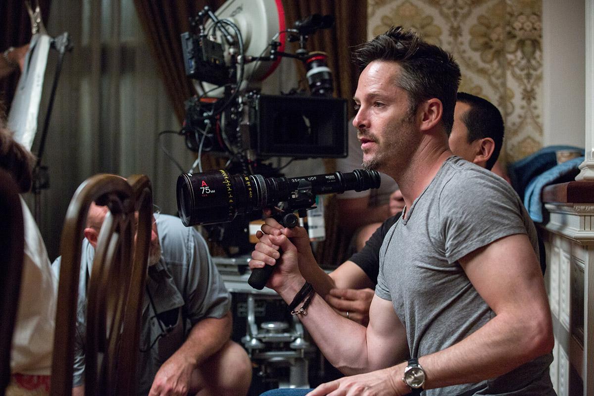 Scott Cooper en el rodaje de Black Mass