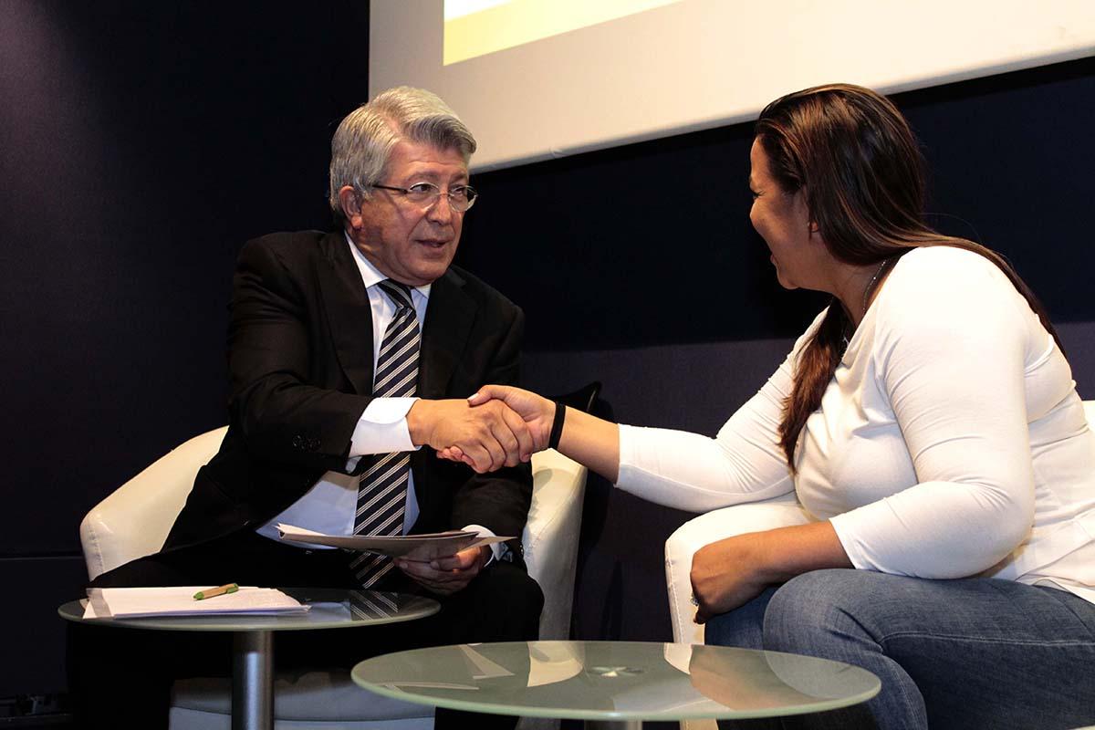 Enrique Cerezo e Yvette Marichal en IV Muestra Todo Cine. Todo Dominicana