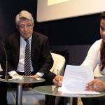 Enrique Cerezo e Yvette Marichal en IV Muestra Todo Cine. Todo Dominicana (2)
