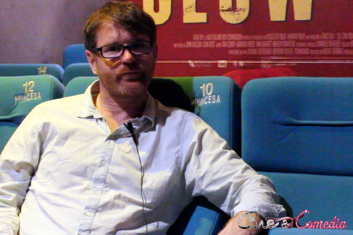 John Maclean en la presentación de Slow West