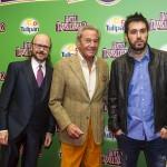 Santiago Segura, Arturo Fernández y Dani Martínez en la presentación de Hotel Transilvania 2 (2)